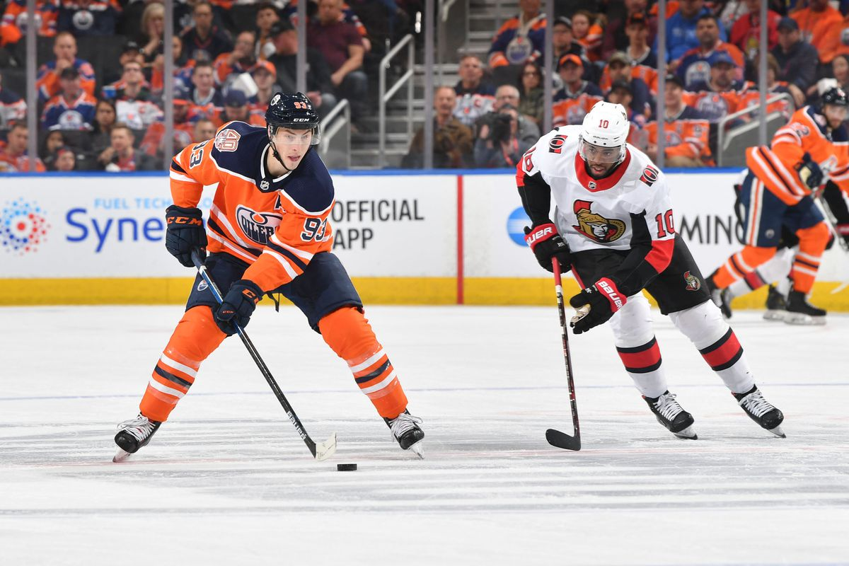 Ottawa Senators Jackets v Edmonton Oilers