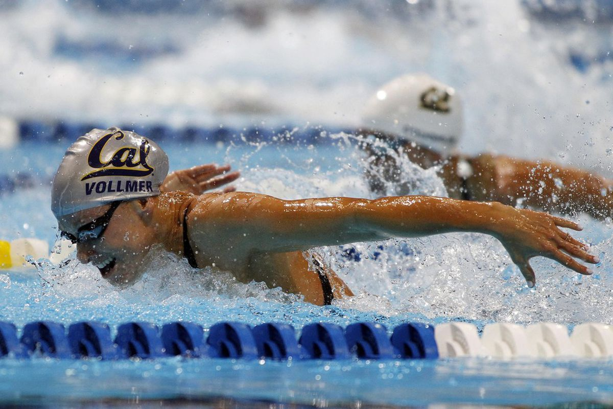 Both Dana Vollmer and Natalie Coughlin will look to make the US Olympic team in 100 Fly tonight.