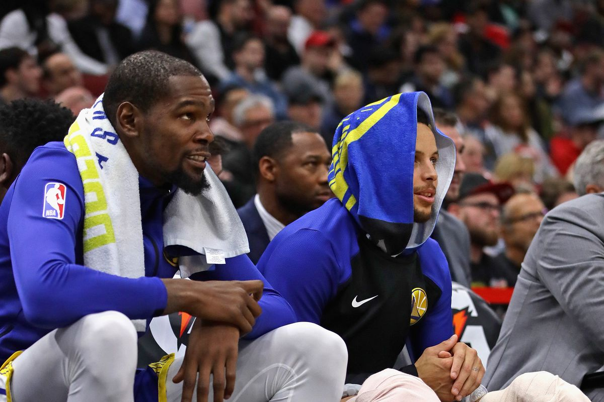 ab067cb31 Warriors Breakdown  The Curry and Durant partnership is thriving - Golden  State Of Mind