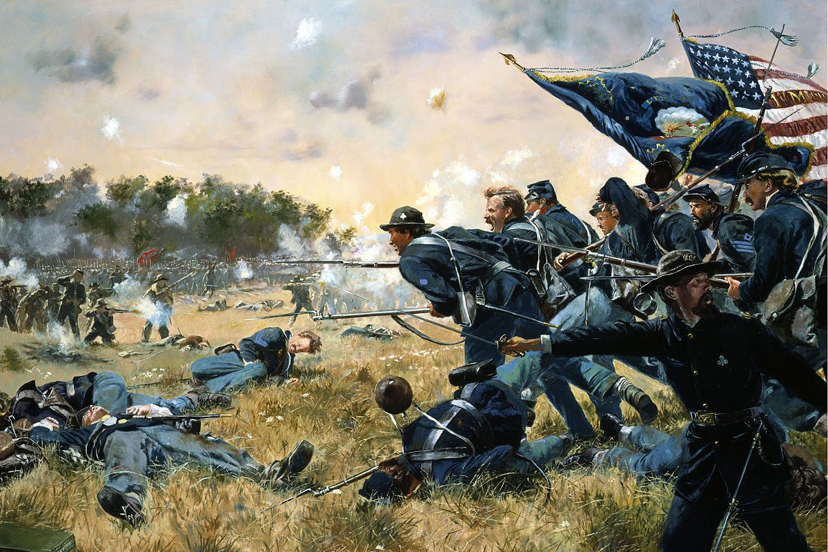 1st Minnesota at Gettysburg