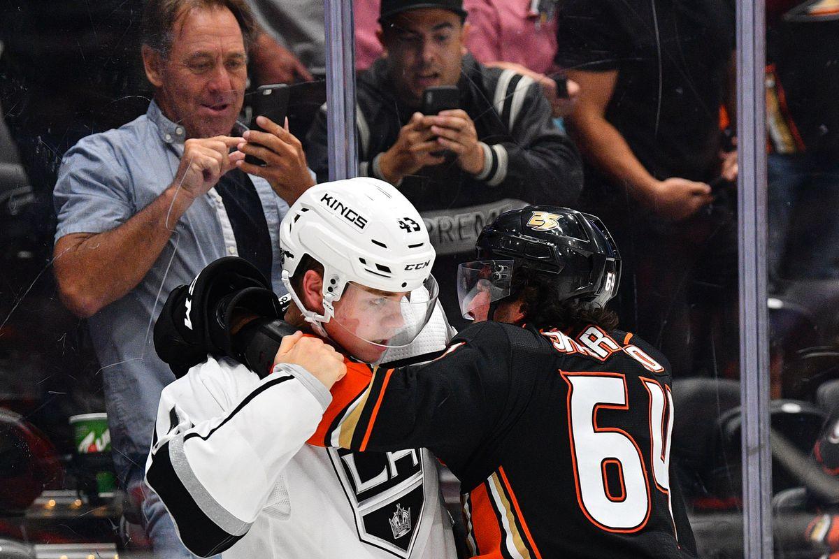 NHL: SEP 26 Preseason - Kings at Ducks