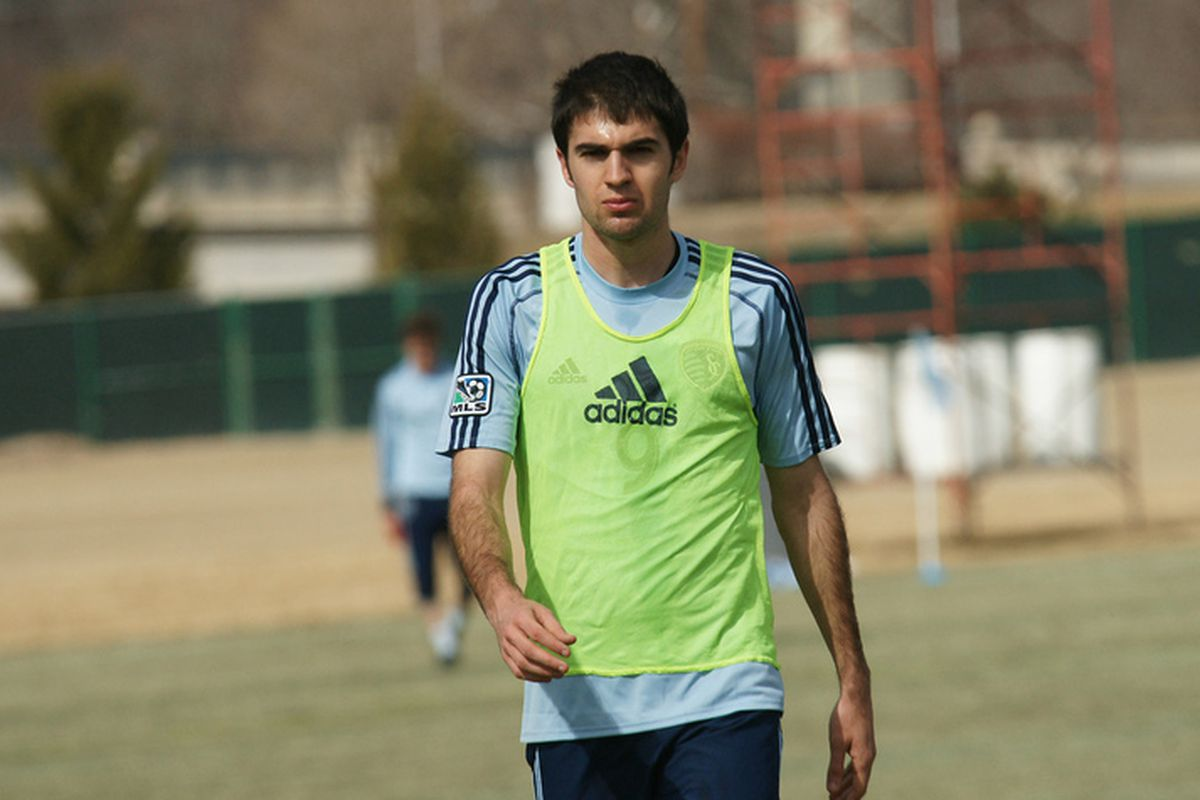 Toni signed with SKC and is eager to help the team