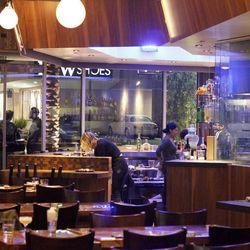 Bar area at Paiche