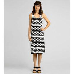 "<b>Edun</b> Silk Arrow Print Tank Dress, <a href=""http://shopbird.com/product.php?productid=28815&cat=696&manufacturerid=&page=1"">$345</a>"