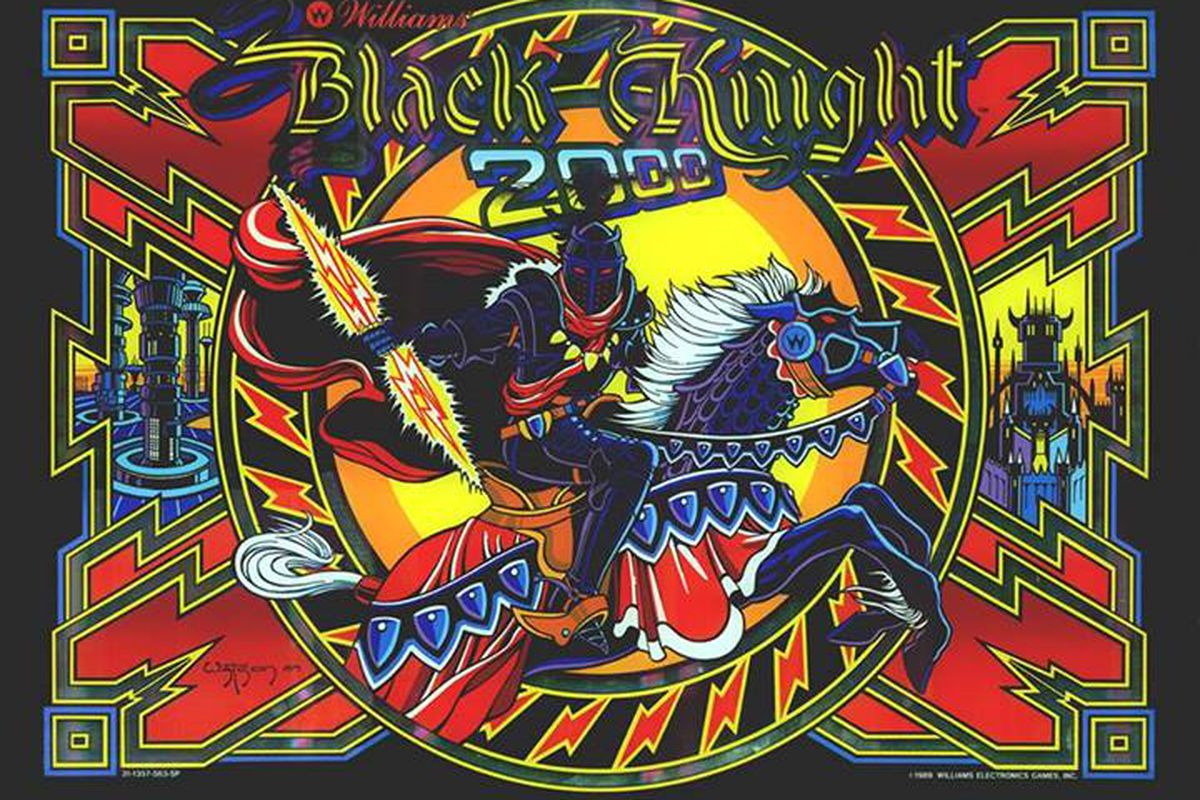 Pinball Arcade extends WMS license, Black Knight 2000