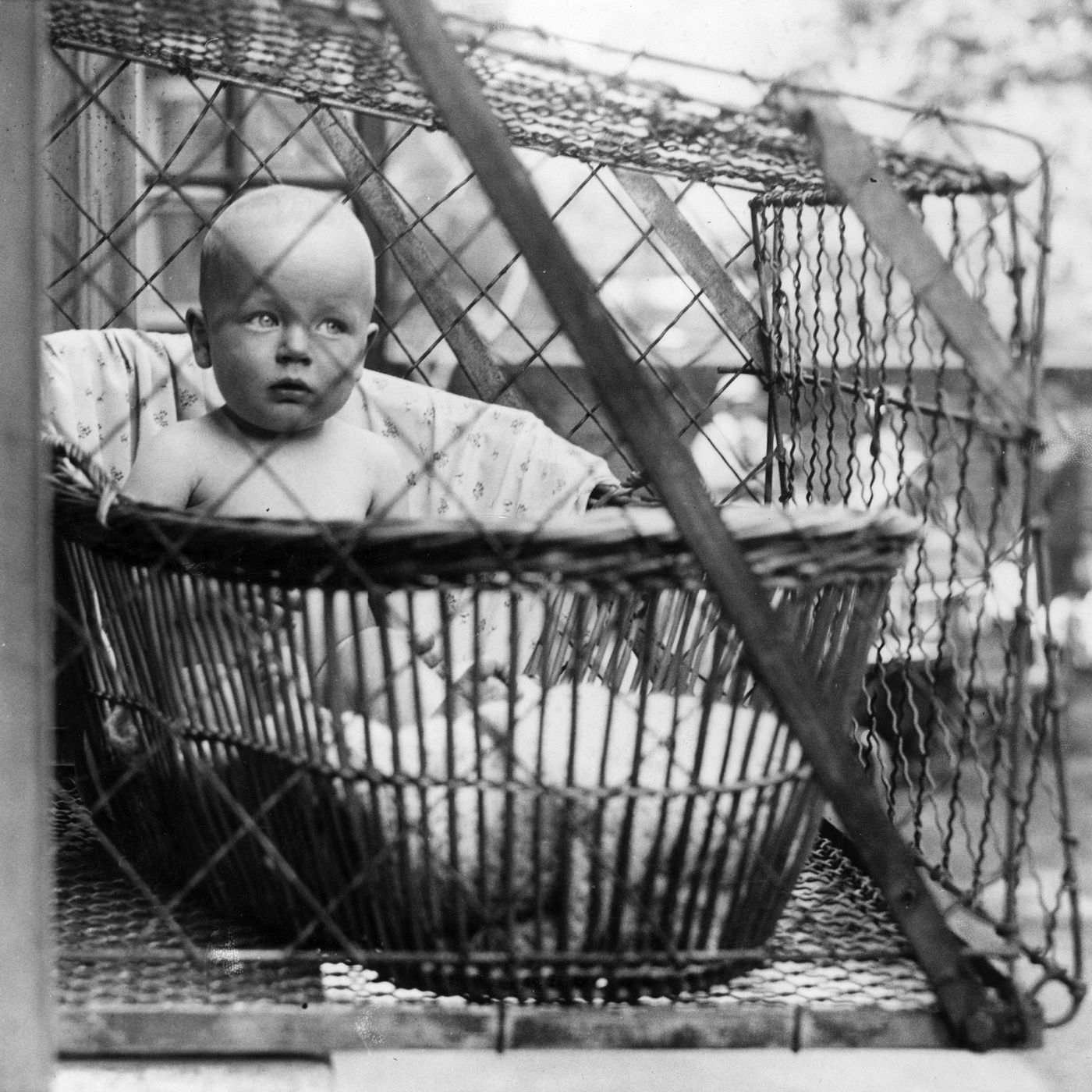 Image result for 20months baby in Cage