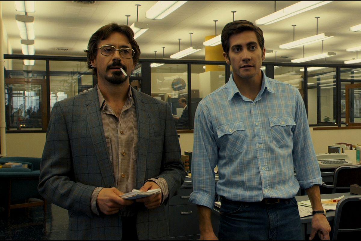 Still of reporters in 'Zodiac'