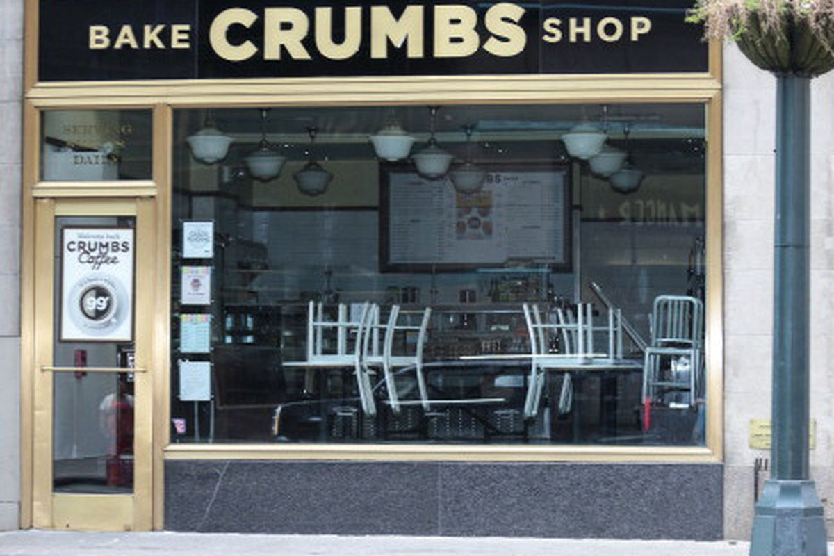 """Photo: <a href=""""http://pix11.com/2014/10/09/crumbs-cupcake-shop-reopening-in-nyc/"""">PIX11</a>"""