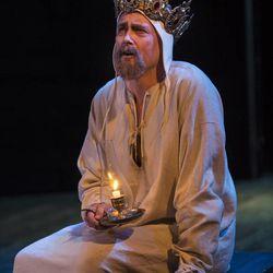 """Larry Bull as King Henry IV in the Utah Shakespeare Festival's 2015 production of """"Henry IV Part Two."""""""