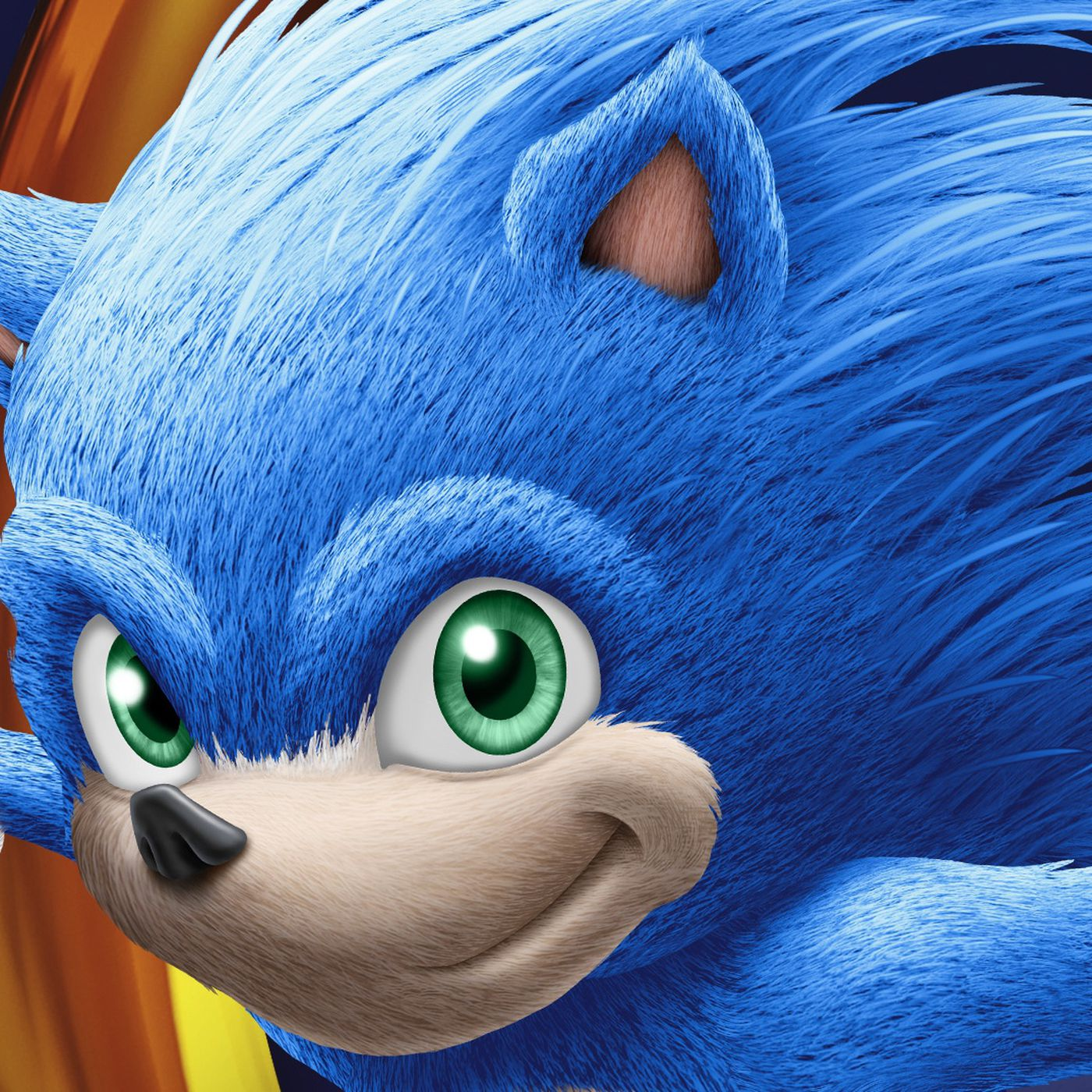 Here He Is Sonic The Hedgehog In Full Live Action Movie Form Polygon