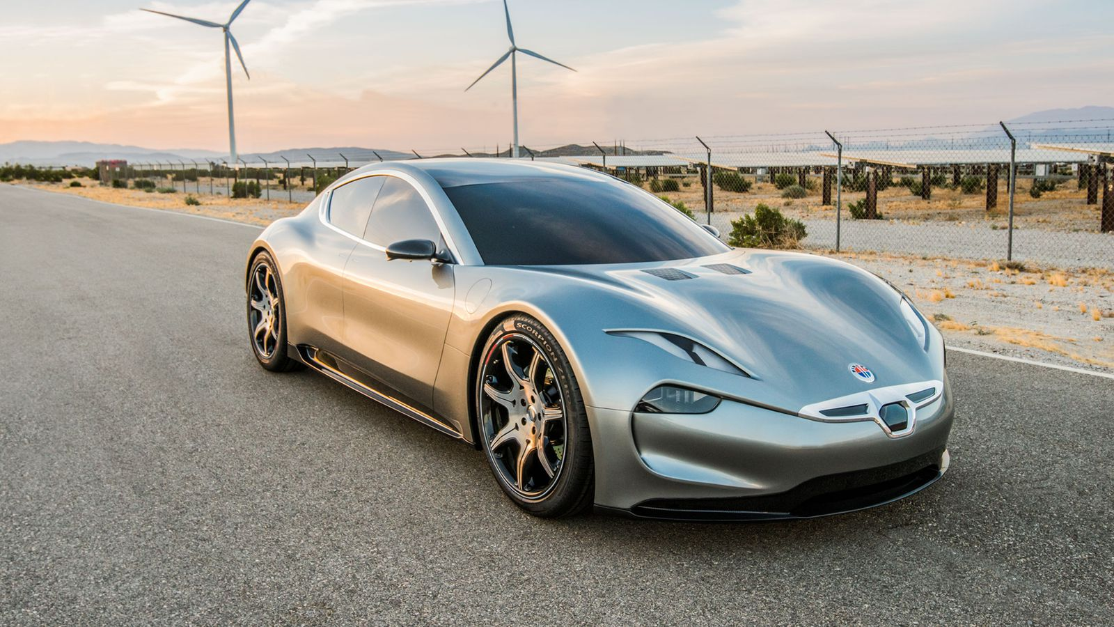 Fisker Picks Ces For New Electric Car Reveal The Verge