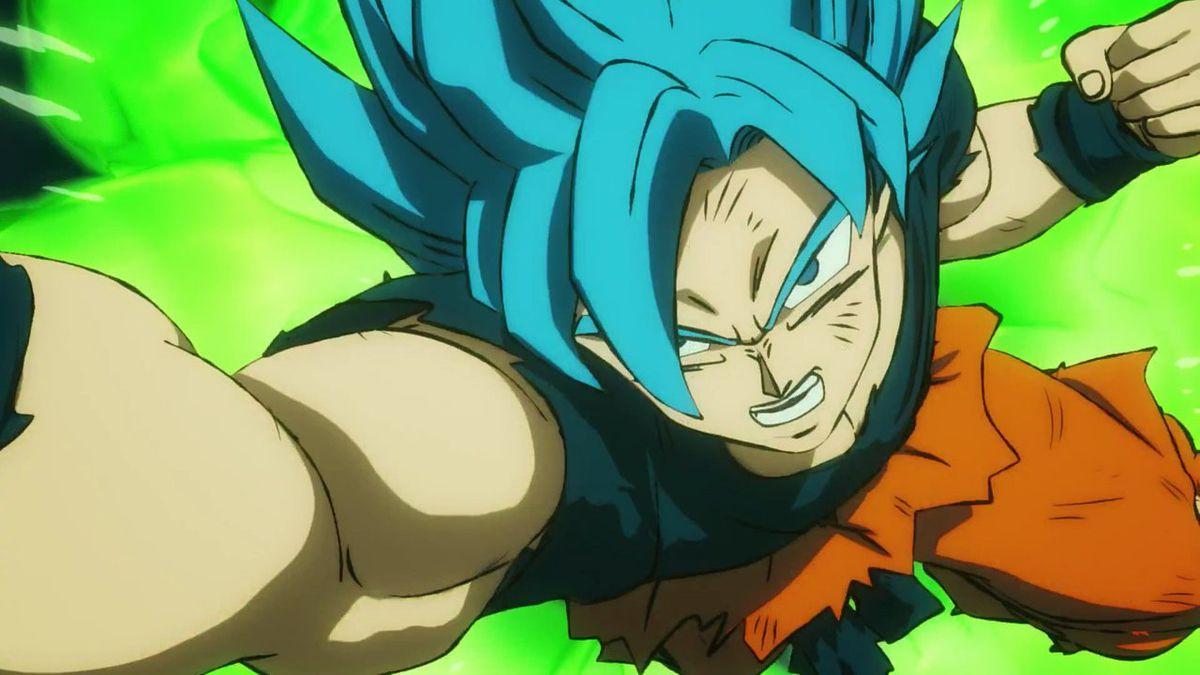 Goku va Super Saiyan dans Dragon Ball Super: Broly