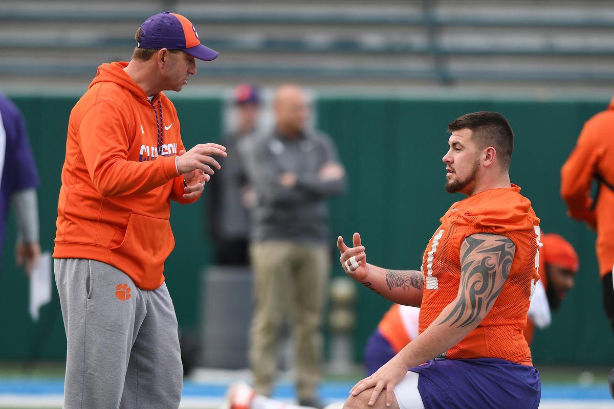 NCAA Football: Sugar Bowl-Clemson Practice