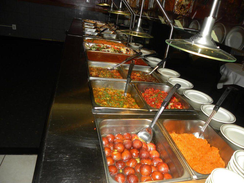 Sangeeth's buffet. [Photo: Official]