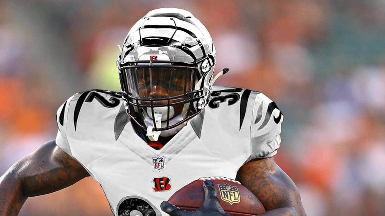 bengals youth color rush jersey