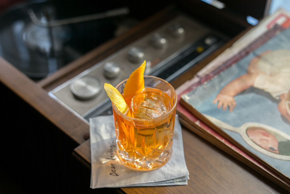 Old Fashioned Chaps At The Bar