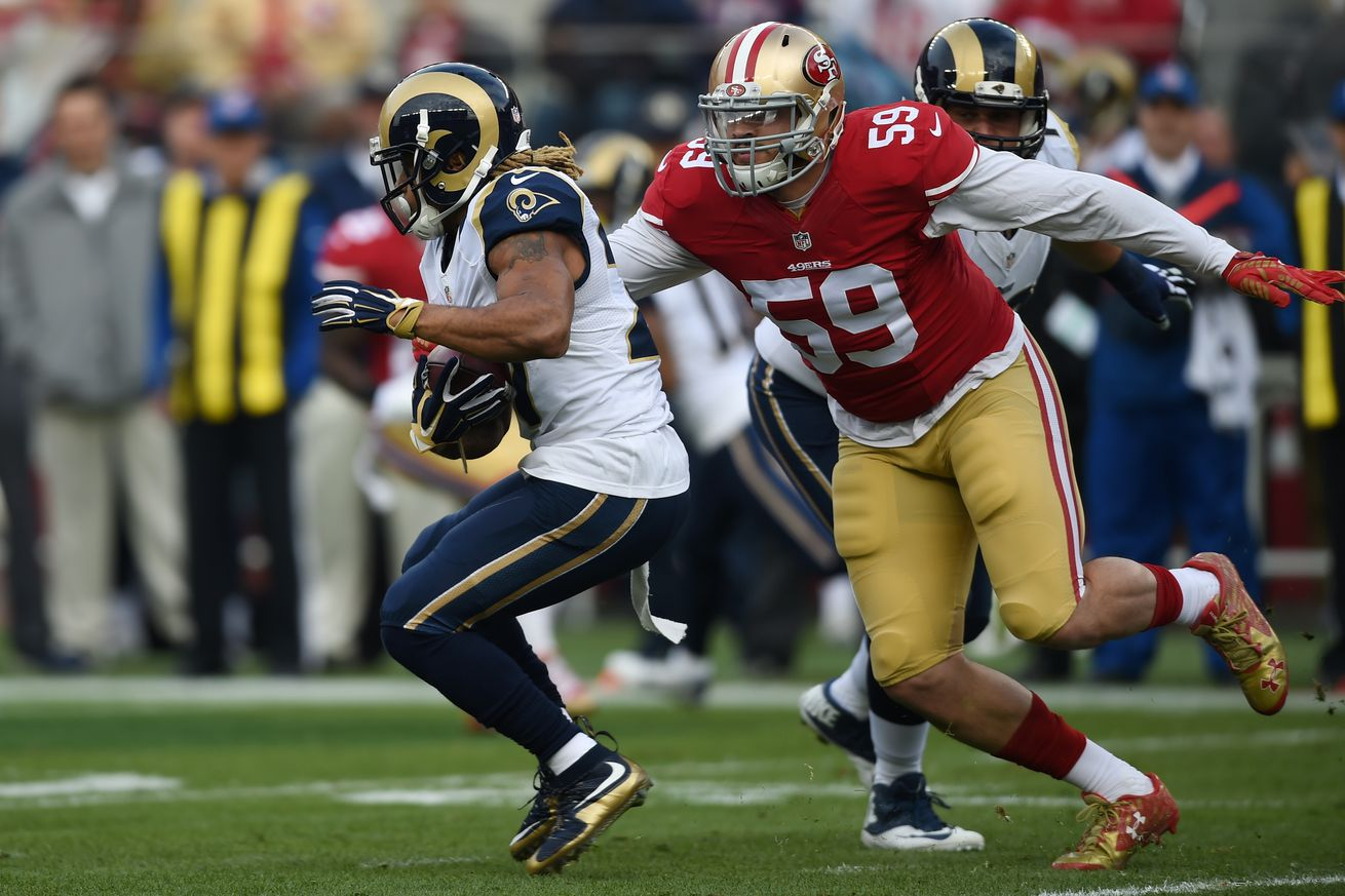 Aaron Lynch weighing in 280s, 'going in the right direction'