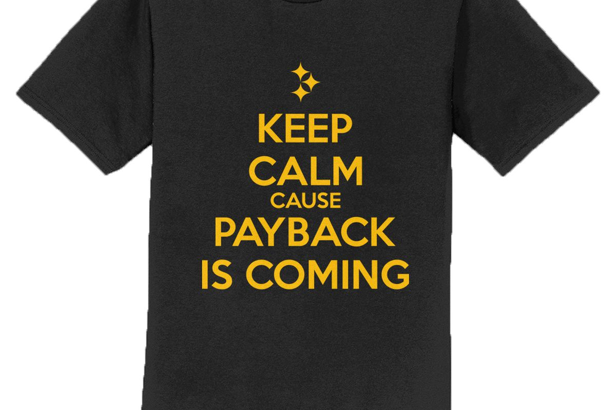 """1375f813 Make a statement with the BTSC """"Stay Calm Because Payback is Coming ..."""
