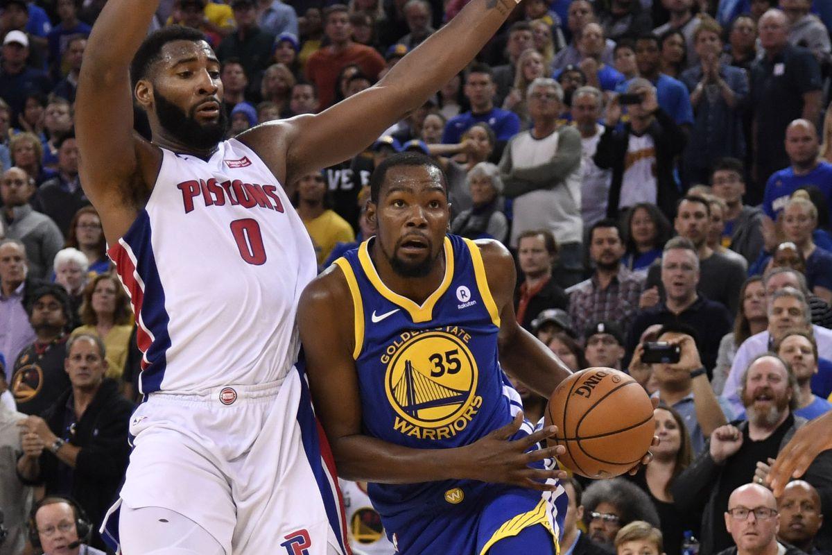 NBA: Detroit Pistons at Golden State Warriors