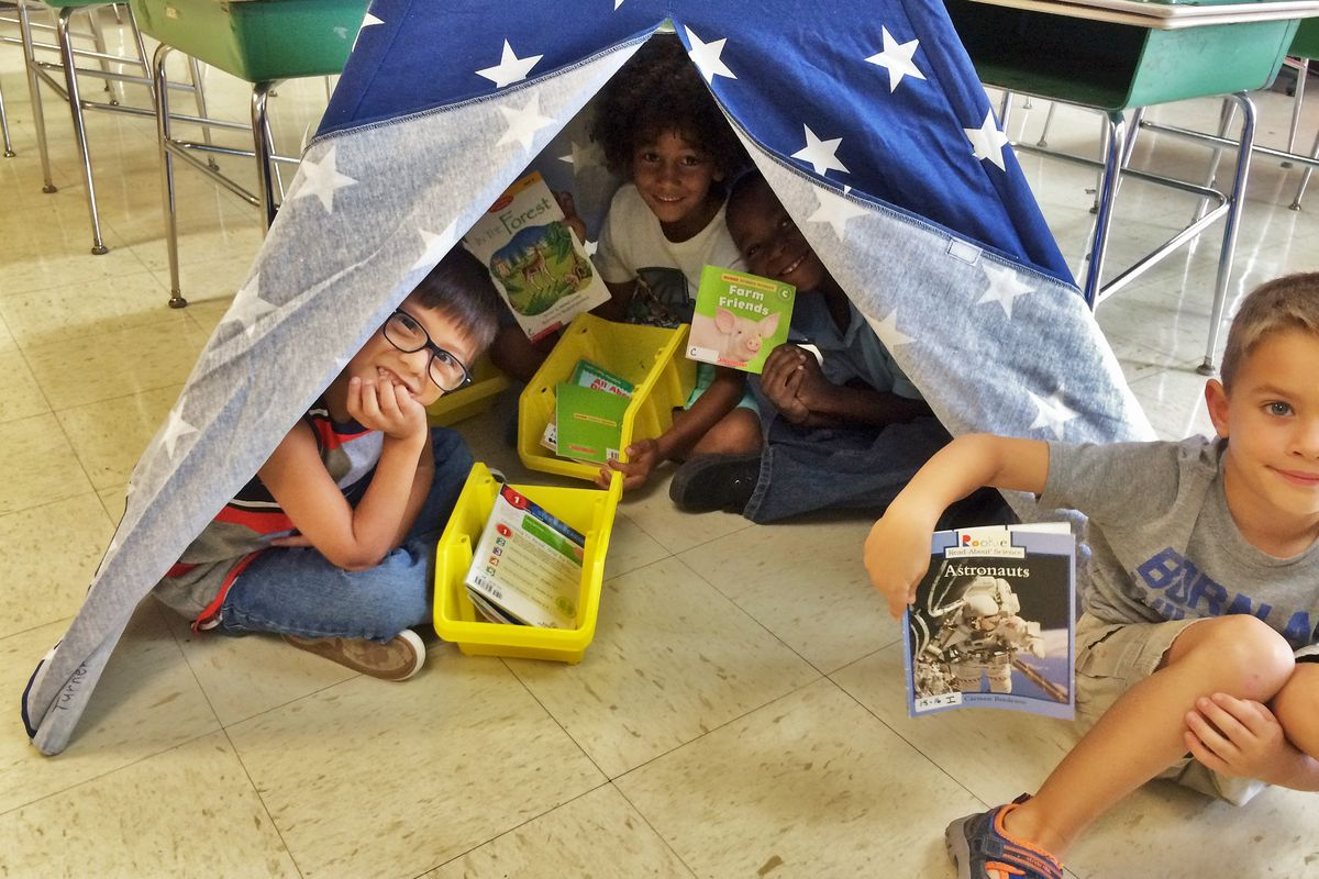 Children participate in a 2016 summer reading program in Lauderdale County in West Tennessee as part of the new grant-based literacy program overseen by the Tennessee Department of Education.