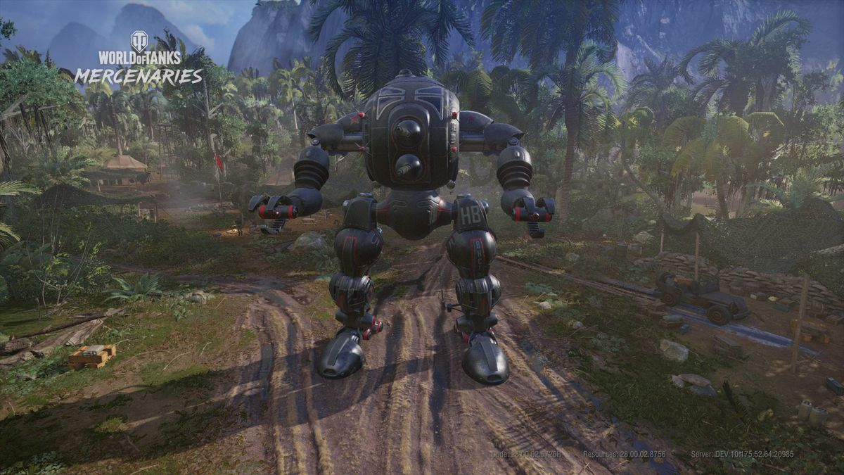 World of Tanks: Mercenaries is getting mechs for a limited