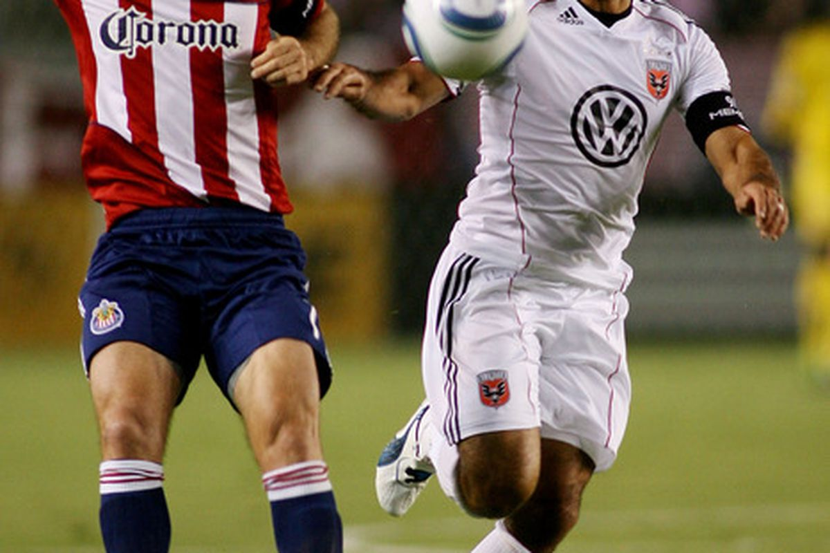CARSON, CA - SEPTEMBER 10:  Not a good night for Chivas USA.  (Photo by Jeff Golden/Getty Images)