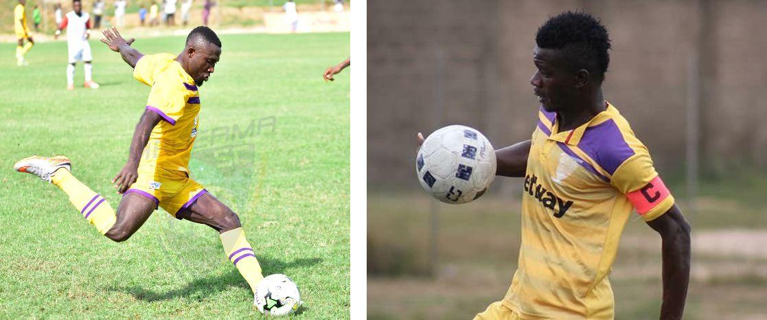 Ibrahim Yaro (left)|Kwasi Donsu (right)
