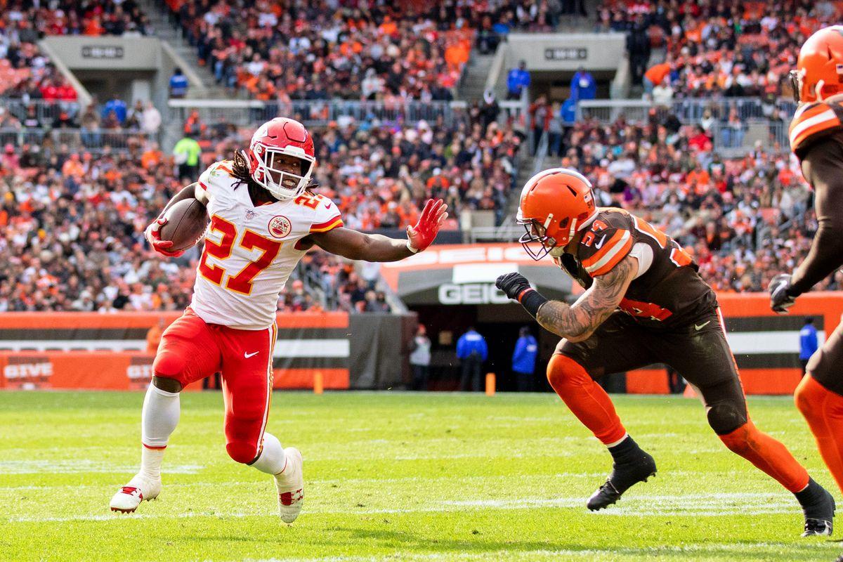 NFL: Kansas City Chiefs at Cleveland Browns