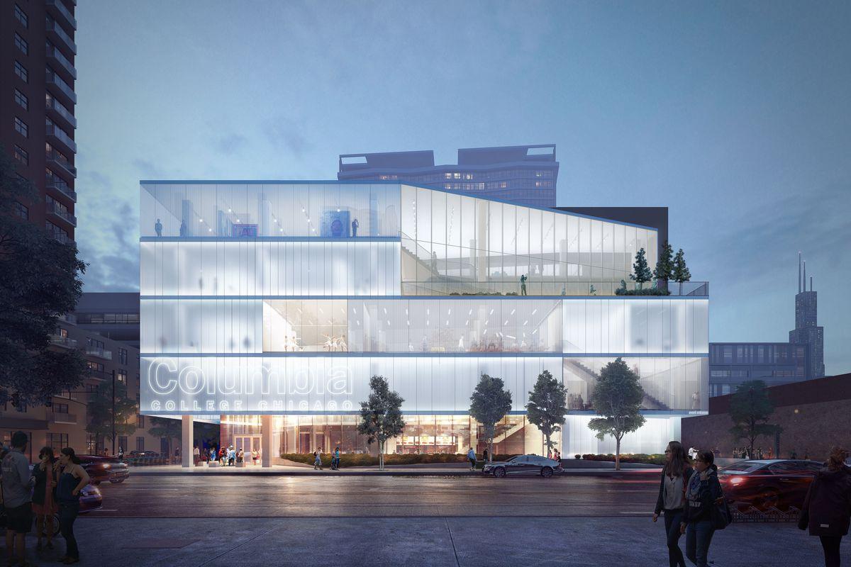 columbia college announces new gensler designed student center