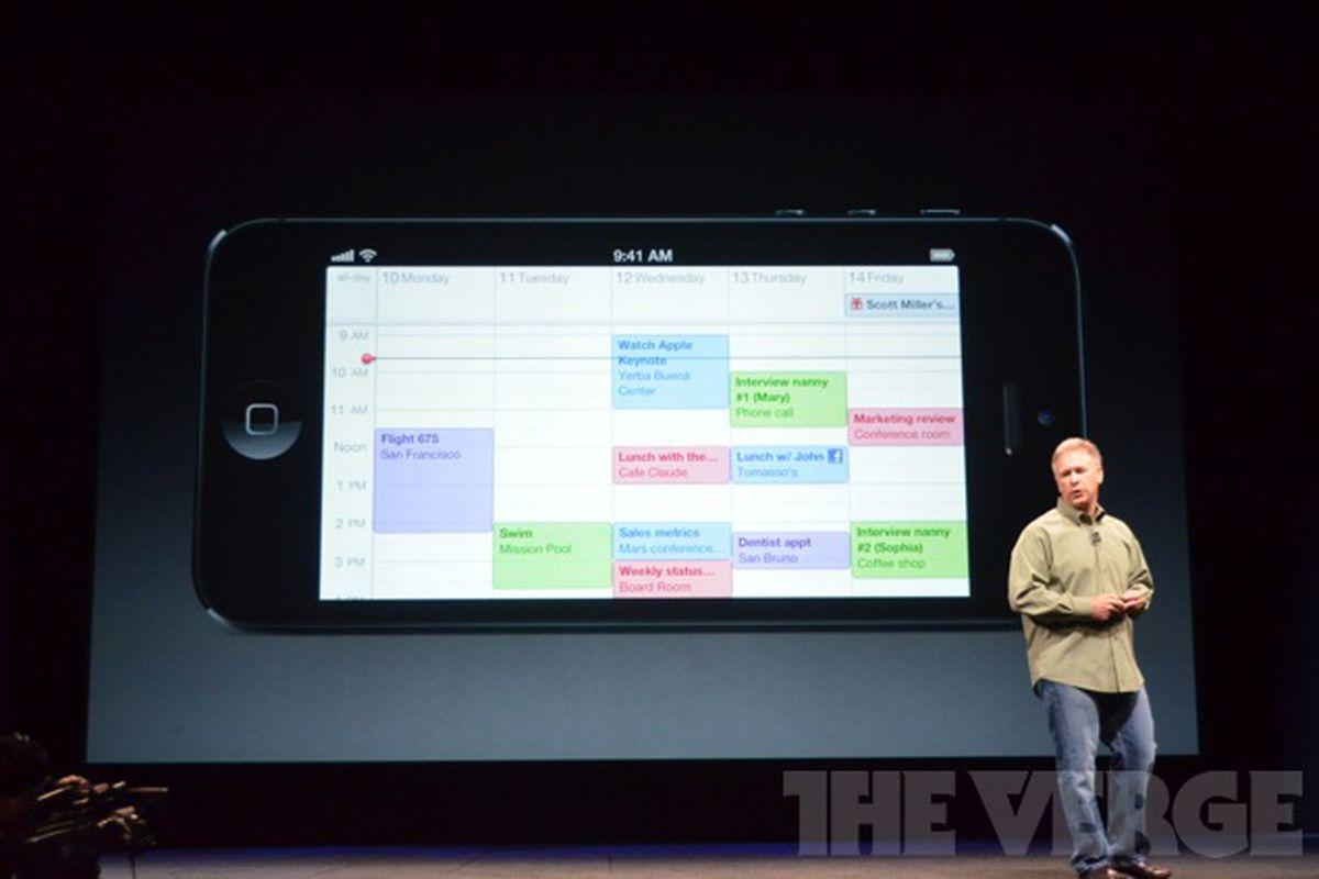 iPhone 5 app