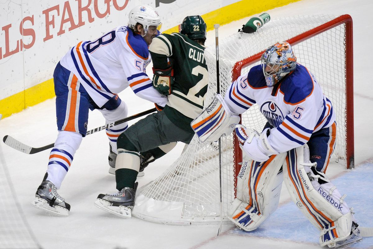 Now that Jeff Petry has replaced Tom Gilbert, there's nowhere to go but up.