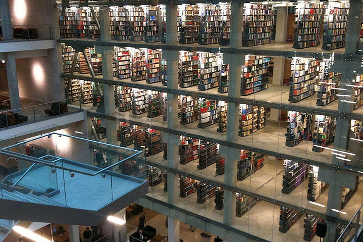 """Fancy remodeled libraries don't come cheap. (<em>Image used under Creative Commons from <a href=""""http://www.flickr.com/photos/datagazetteer/3846270383/"""">DataGazetteer</a></em>)"""