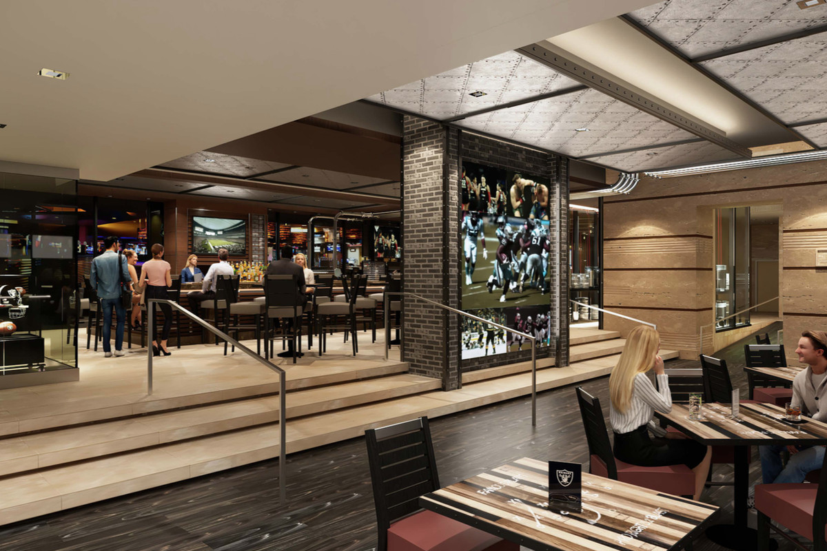 A rendering of a future restaurant