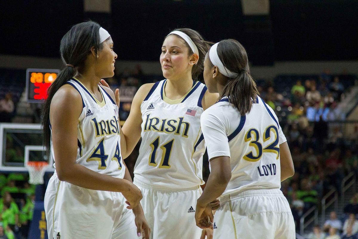 Irish women's basketball finished their perfect regular season, 29-0.