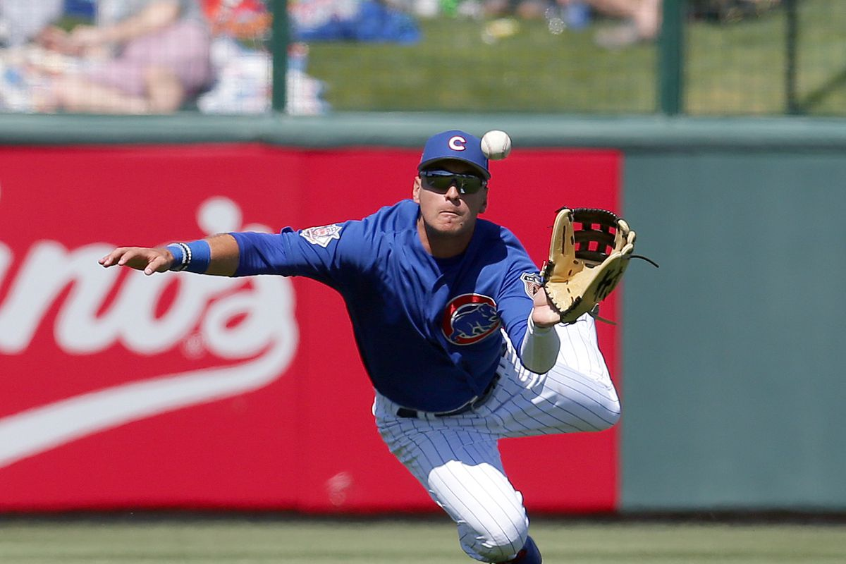 MLB: Spring Training-Cleveland Indians at Chicago Cubs