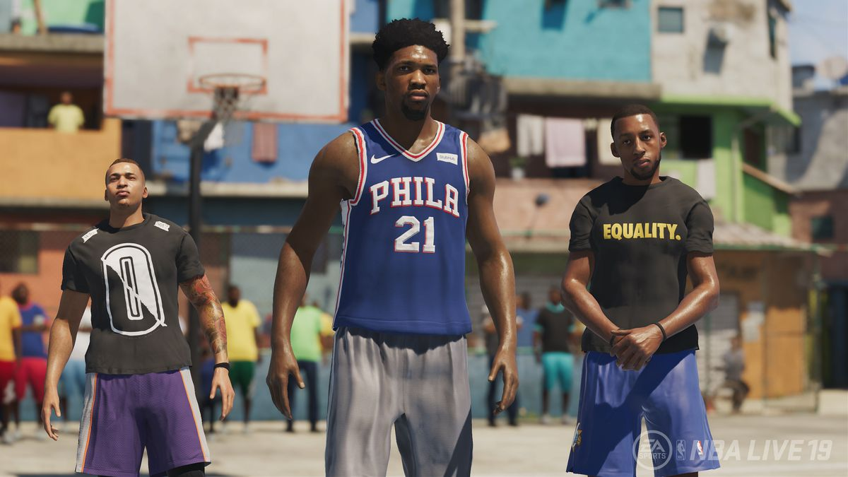 NBA Live 19 review: EA's troubled series is saved by a fantastic