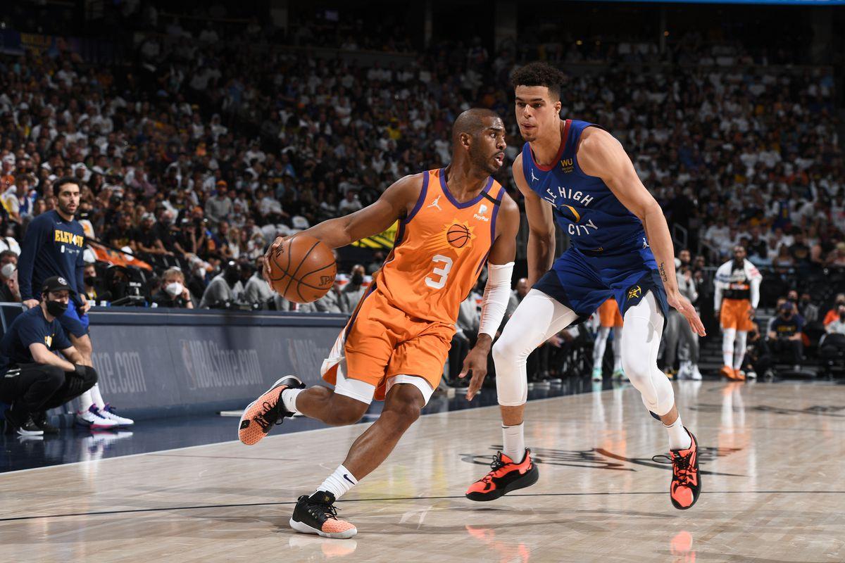 2021 NBA Playoffs - Phoenix Suns v Denver Nuggets