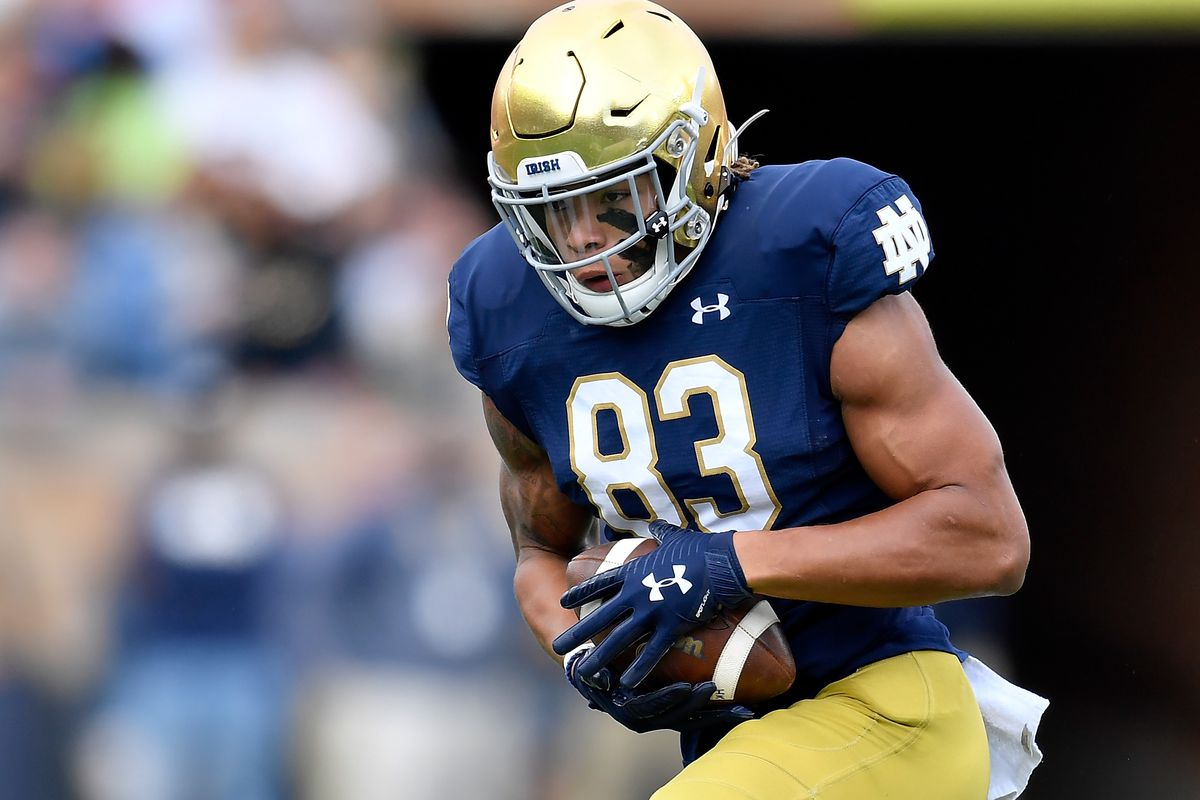 Colts Listed As Espn S Best Fit For Notre Dame Wr Chase Claypool In The Nfl Draft Stampede Blue