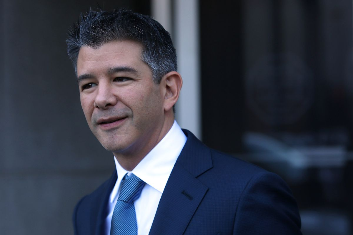 Uber's Travis Kalanick Starts Fund to Invest in Tech Startups