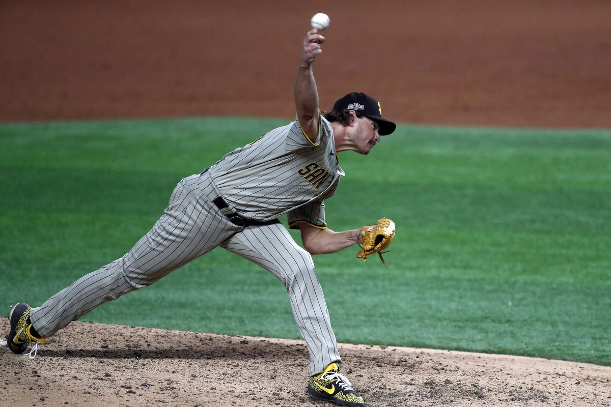 Division Series - San Diego Padres v Los Angeles Dodgers - Game One