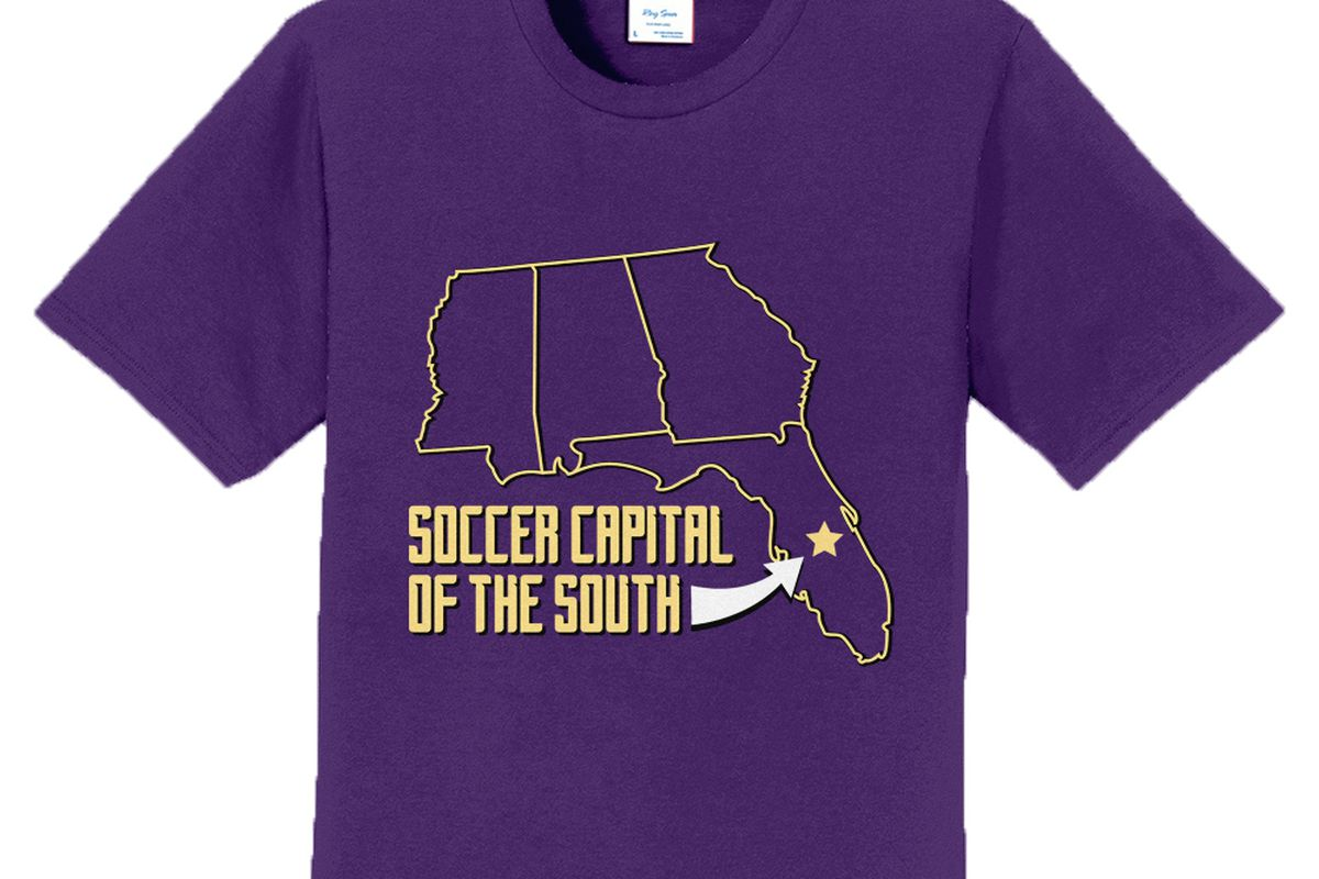 Show Off Where Youre From With Tmls Soccer Capital Of The South