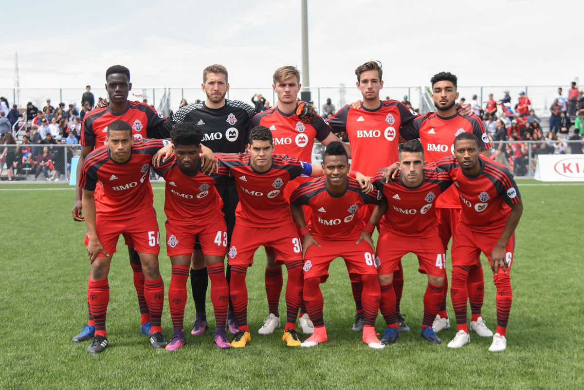 USL Photo - TFC II posed for a picture ahead of match against the Richmond Kickers
