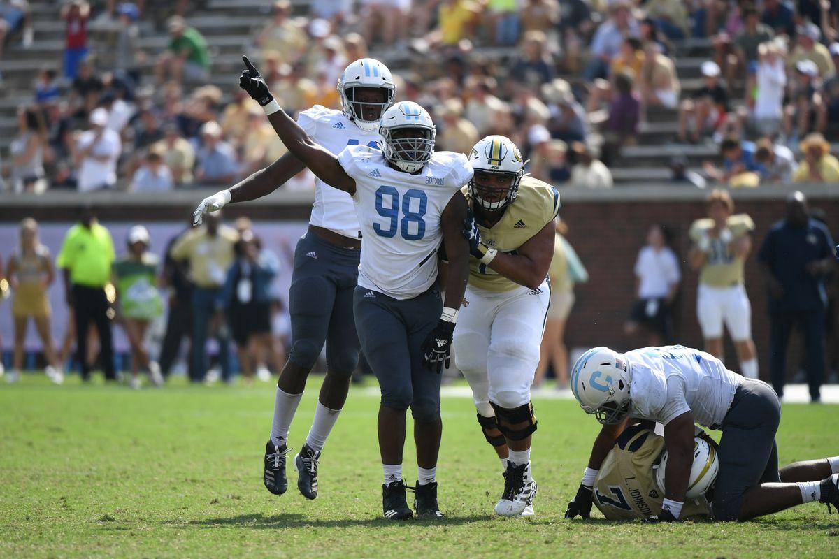 NCAA Football: The Citadel at Georgia Tech