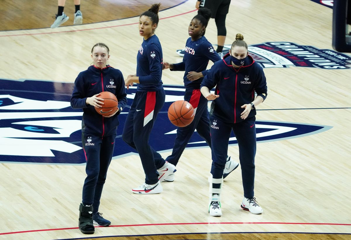 NCAA Womens Basketball: Georgetown at Connecticut