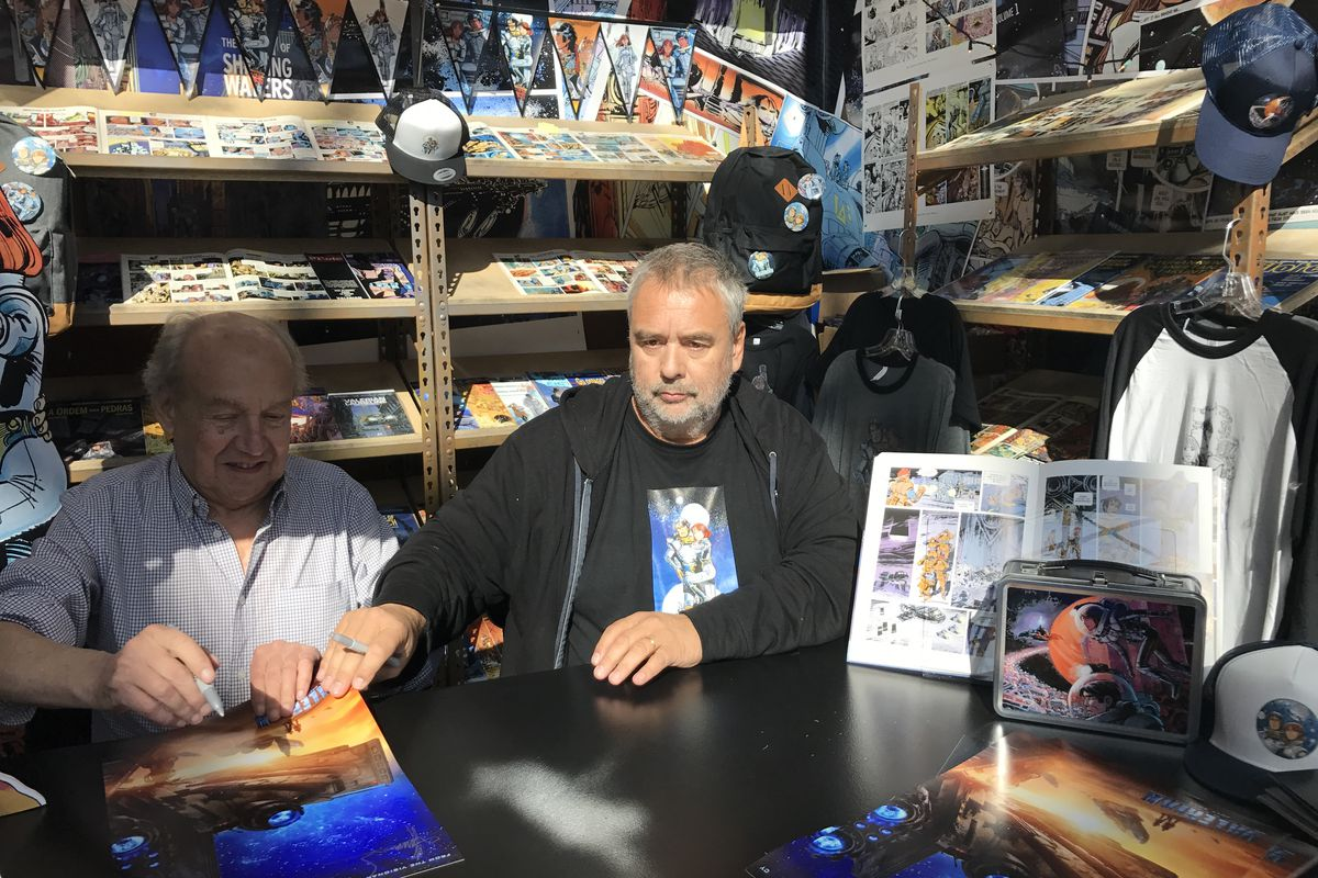 Jean-Claude Mezieres / Luc Besson, New York Comic Con 2016