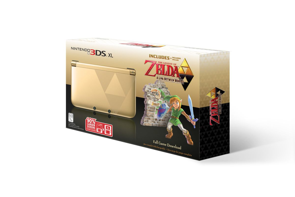 The Legend Of Zelda A Link Between Worlds Bundle Comes With New