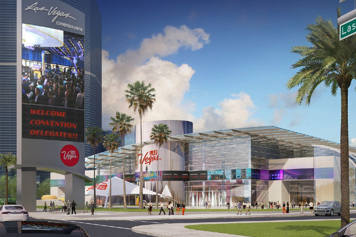 This is what the Las Vegas Convention and Visitors Authority will place on the Riviera site.