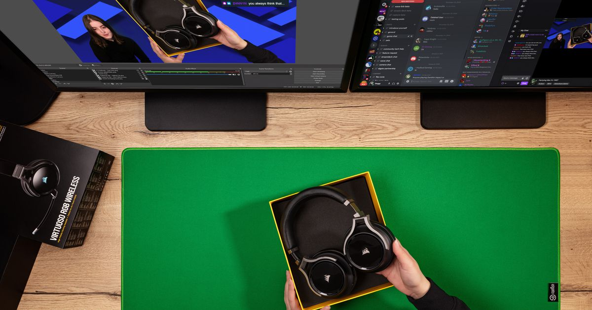 Elgato's green screen mouse pad actually seems like a good idea for streamers - The Verge