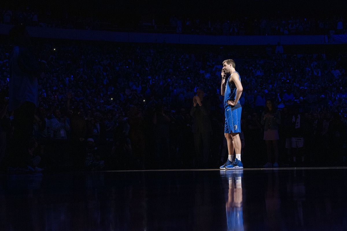 Dirk Nowitzki's final game in Dallas was a throwback for all time - Mavs Moneyball