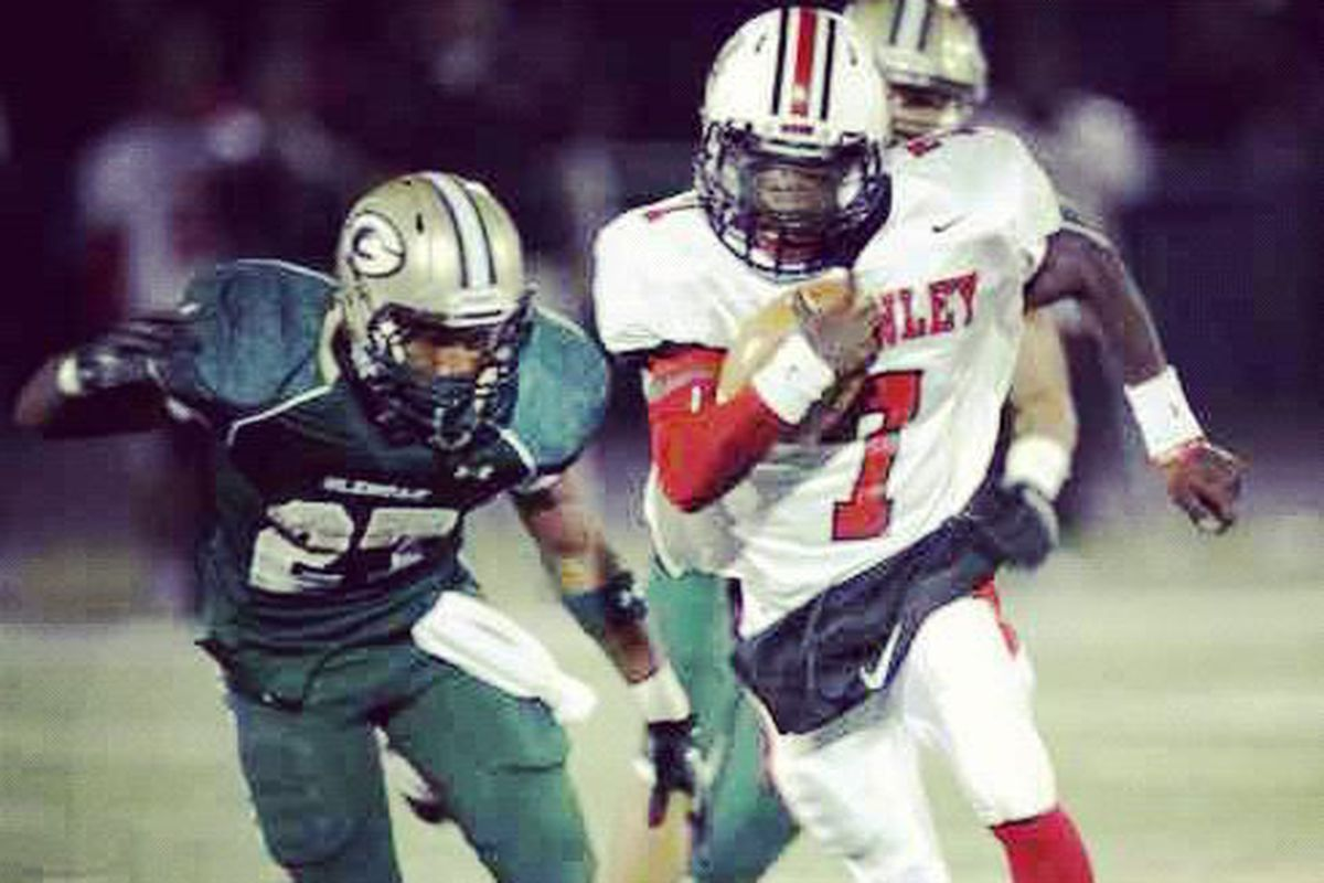 '15 ATH Eric Glover-Williams becomes the first Buckeye commit in the class of 2015